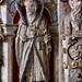 Minden, Westfalen, Marienkirche, baptismal font, cuppa:  saint