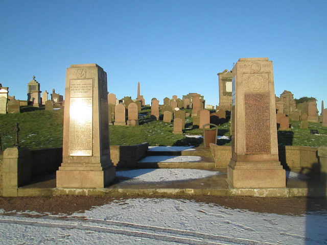Peterhead Second World War Memorial Pillars