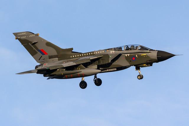 RAF Panavia Tornado GR4, Nikon D7100, AF-S Nikkor 200-500mm f/5.6E ED VR