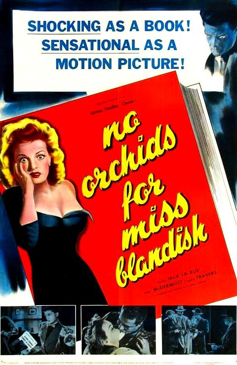 No Orchids for Miss Blandish - Poster 1
