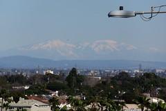 San Bernardino Mountains with Snow