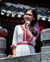 Pose in Kunming