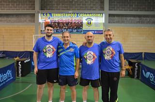 La Serie C1 D con Pellegrini, Dell'Omo, Di Giuseppe, De Carolis
