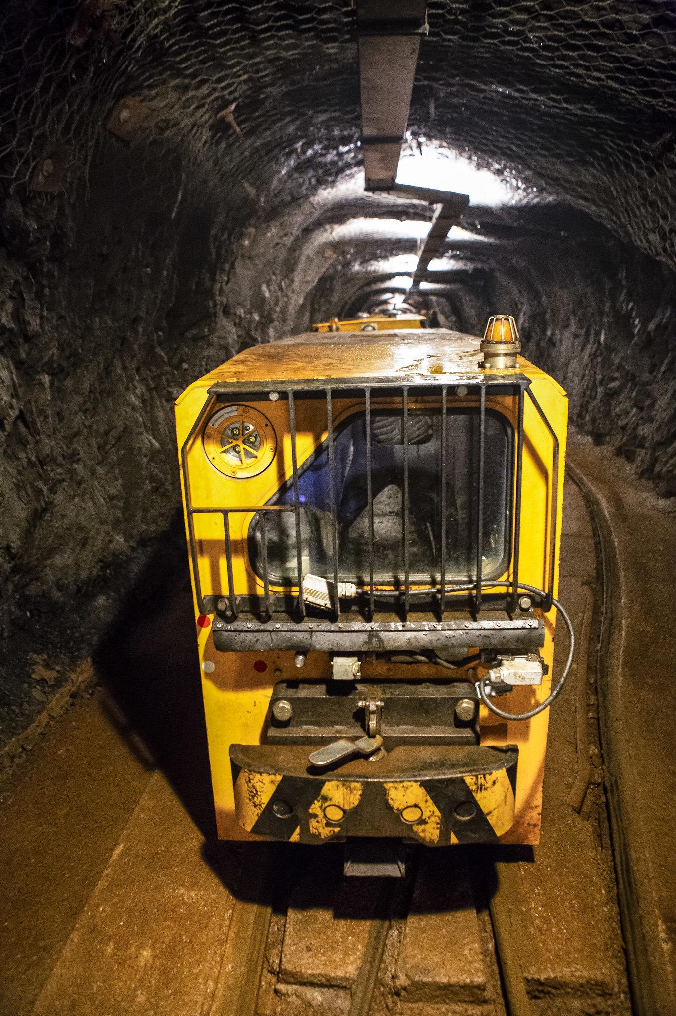El tren de la mina