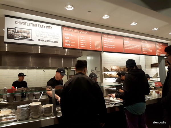 Chipotle Markham location