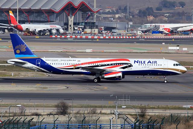 Nile Air  Airbus A321-231 SU-BQN