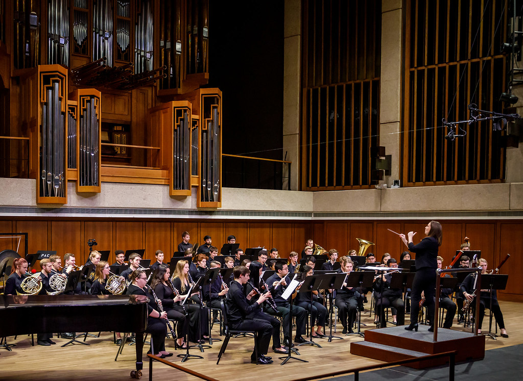 University of Texas Symphony Band | Texas Review | Ralph Arvesen