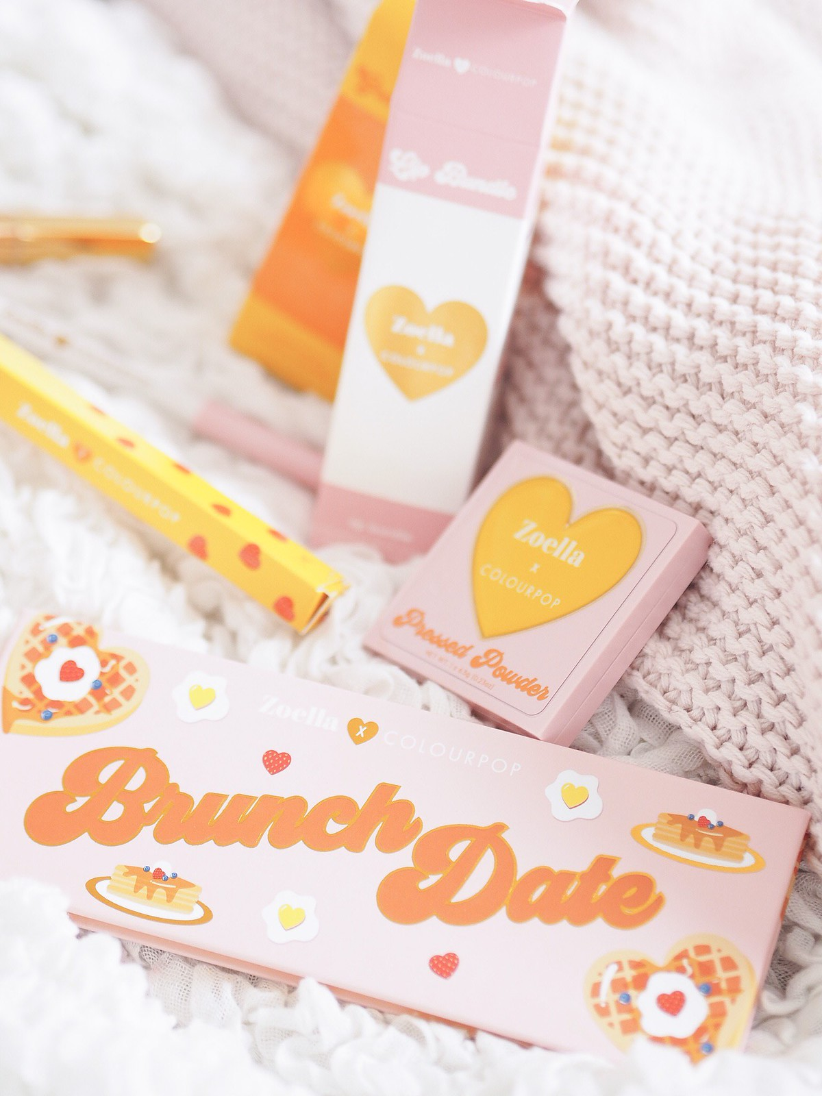 colour pop collection zoella review blog