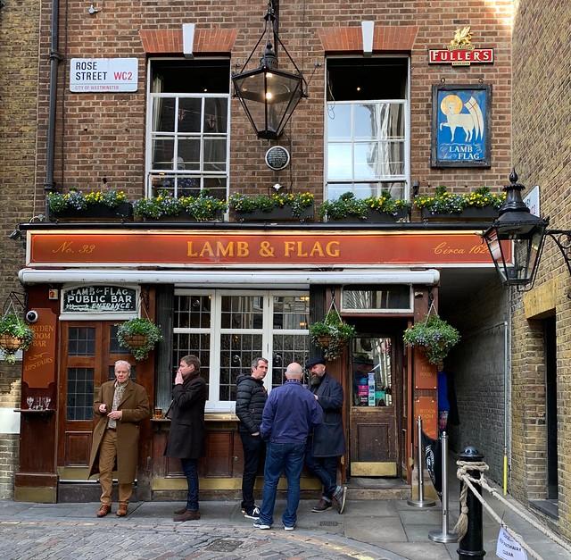 2019 London - Day 10 - Pub Crawl - Lamb & Flag