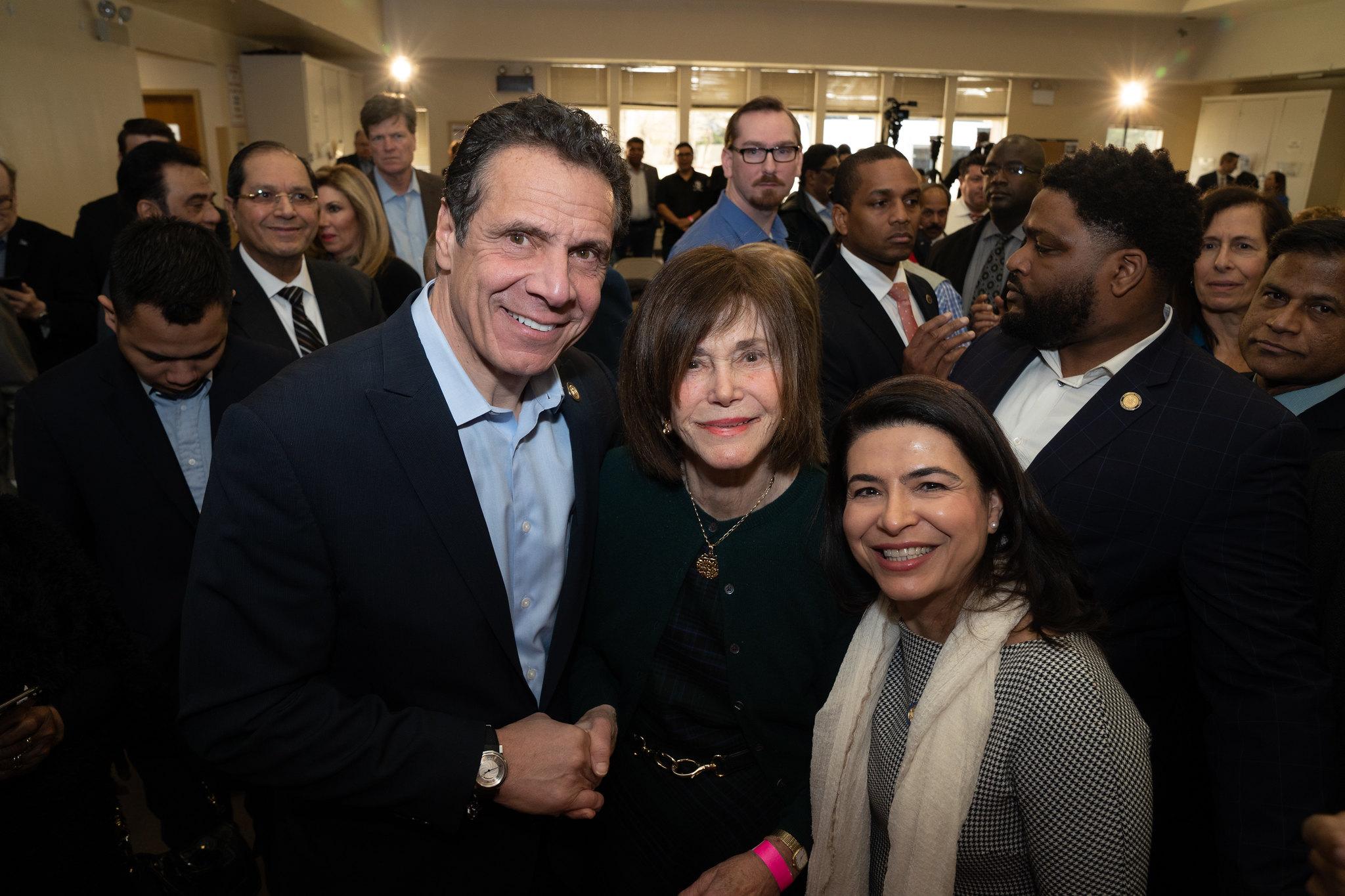 Governor Cuomo and Long Island Senators: No Tax - No Deal!