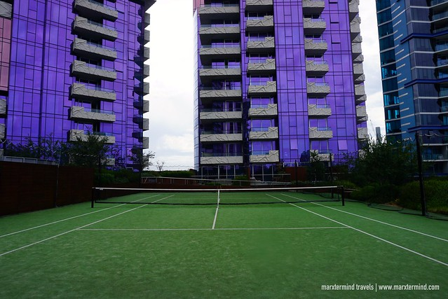 The Sebel Docklands - Tennis Court and Garden