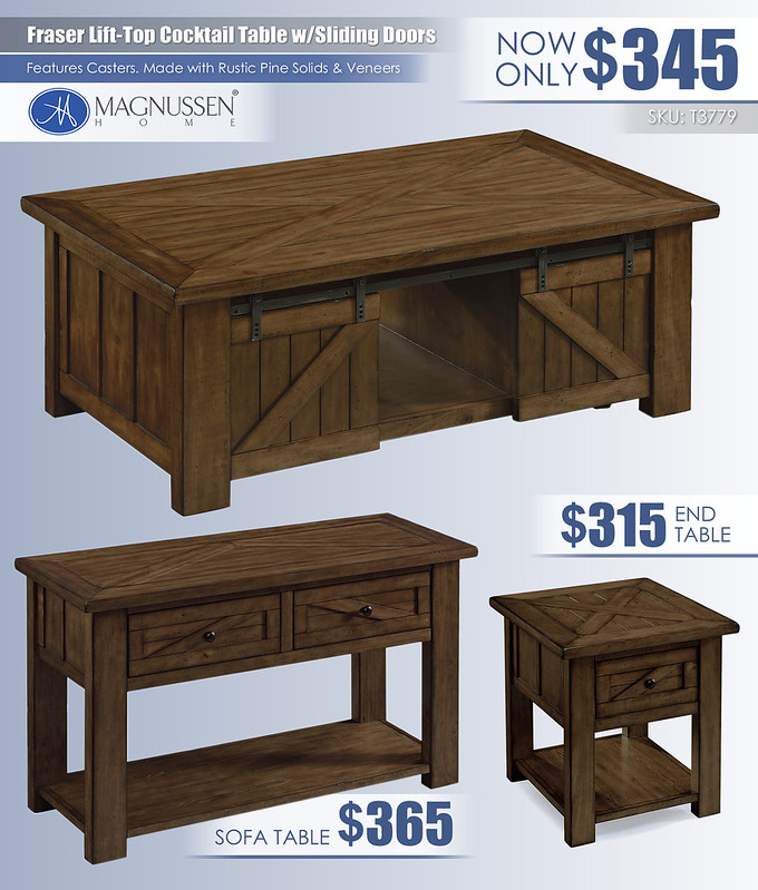 Fraser Table Collection_T3779