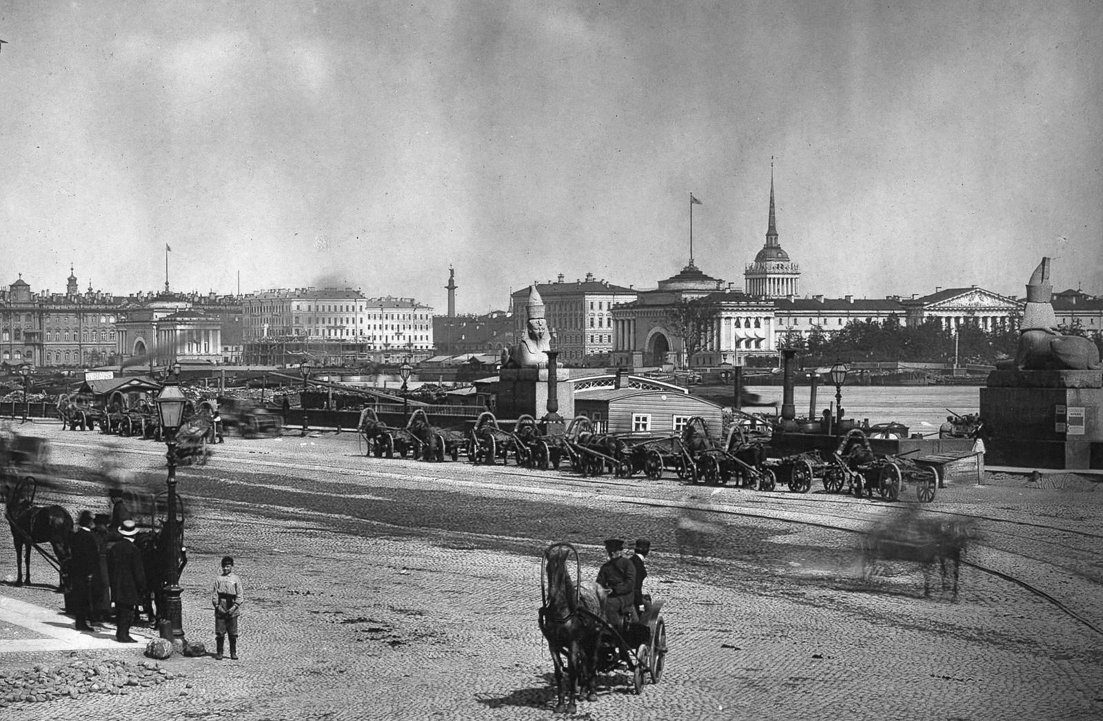Университетская набережная. 1879