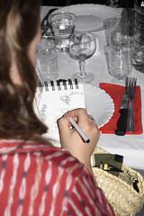 Appassionata dal mangiare o dal disegnare…
