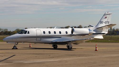 Cessna 560XLS Citation Excel+ OE-GTS Porsche Air Service