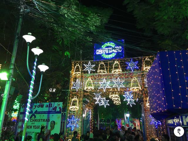 Park Street Kolkata During Christmas.Christmas 2018 At Park Street Kolkata Sukanta Pal