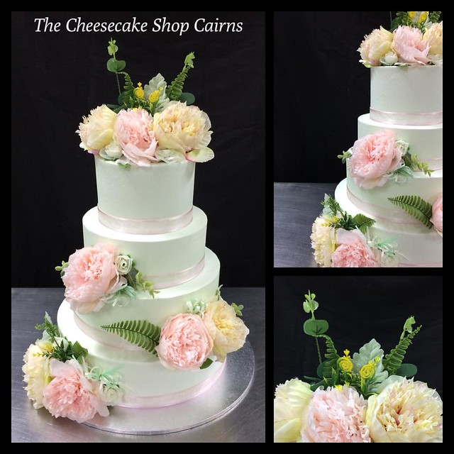 Floral Cake by The Cheesecake Shop Cairns