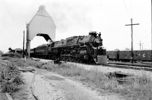 C&O 614 in New Buffalo, MI (June 1981)
