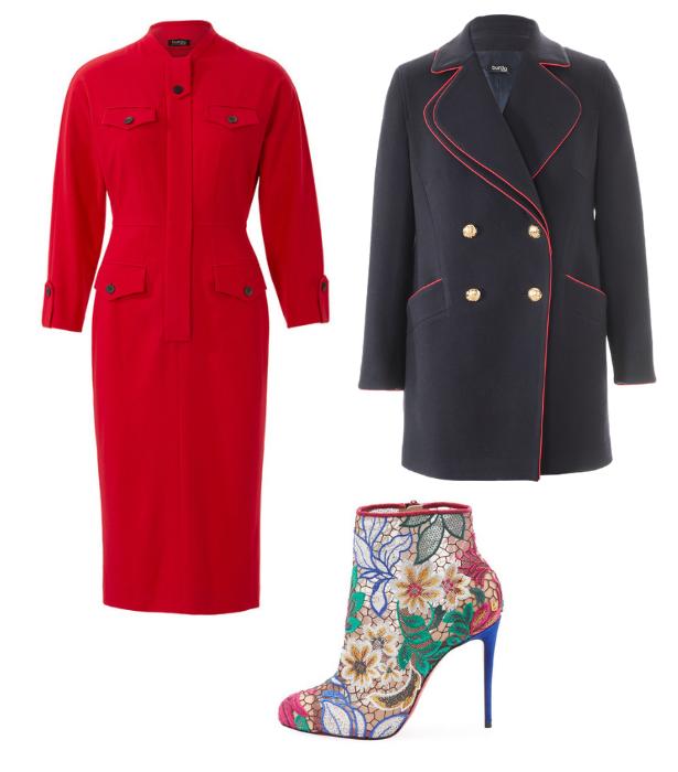 Retro Dress Caban Jacket