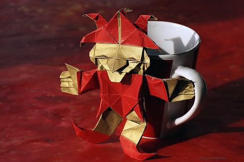 Origami Jester / Bufón (Fernando Gilgado Gomez)