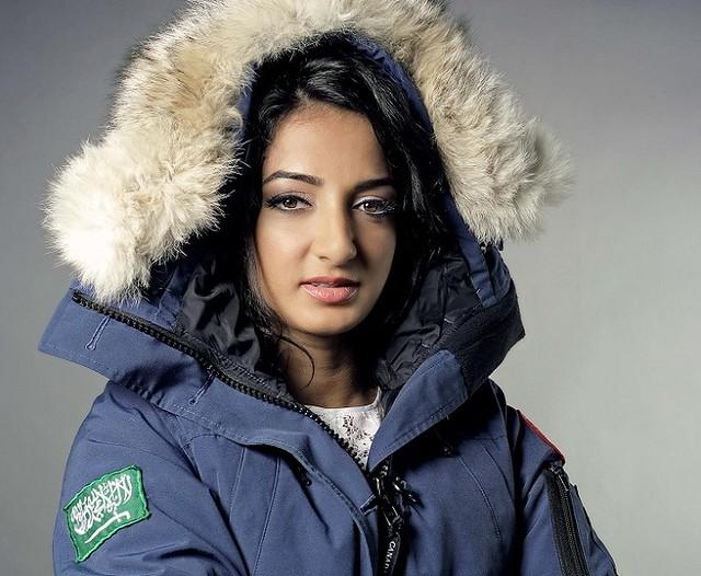 2489 Raha Mouharrak, the first Saudi Woman to climb Mount Everest 02