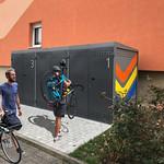 Scooter boxes, Jena, Germany