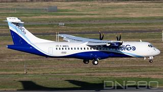 IndiGO ATR72-600 msn 1550