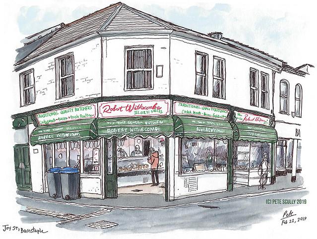 Barnstaple butcher shop