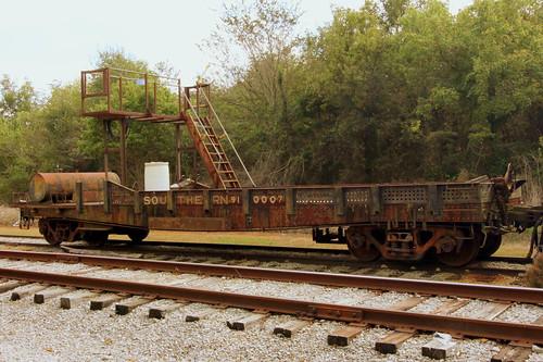 Southern 910007 Flat Car - Chase, AL