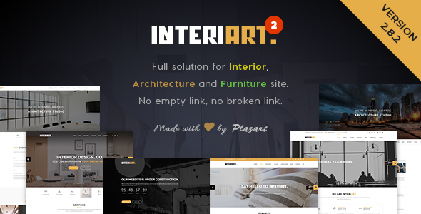 InteriArt v2.8.6 – Furniture & Interior WordPress Theme