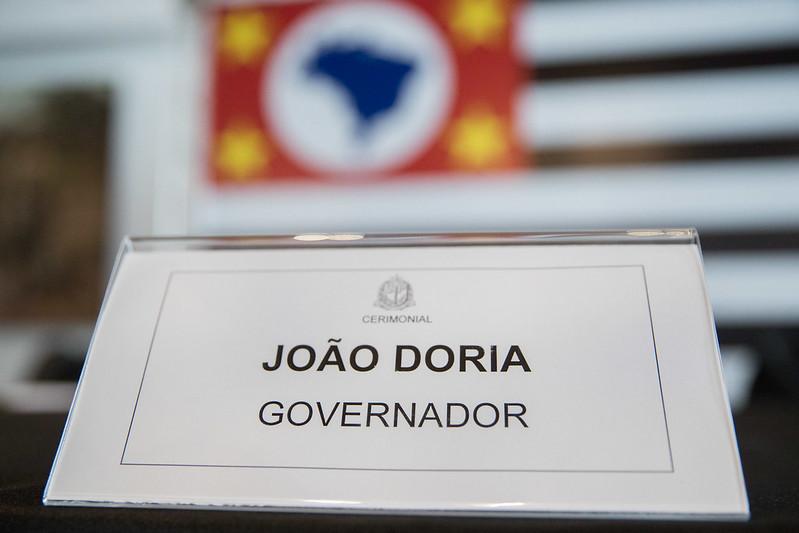 Coletiva do governador com SSP