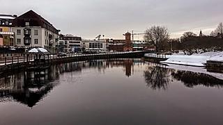 Falun River - February 2019
