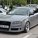 Grey Audi RS4 Avant
