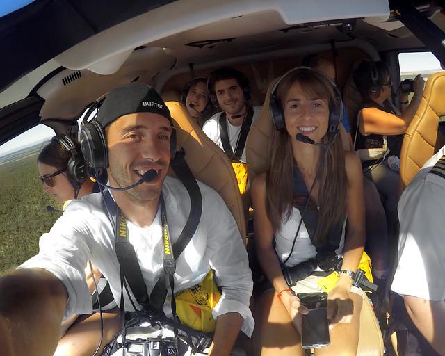 Helicoptero por el North Rim, de las mejores excursiones que hacer en el Gran Cañón