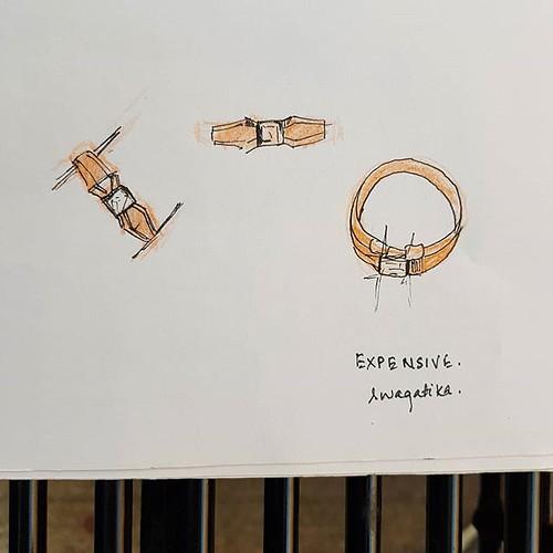 A ring #ring #inktober2018 #inktober #expensive