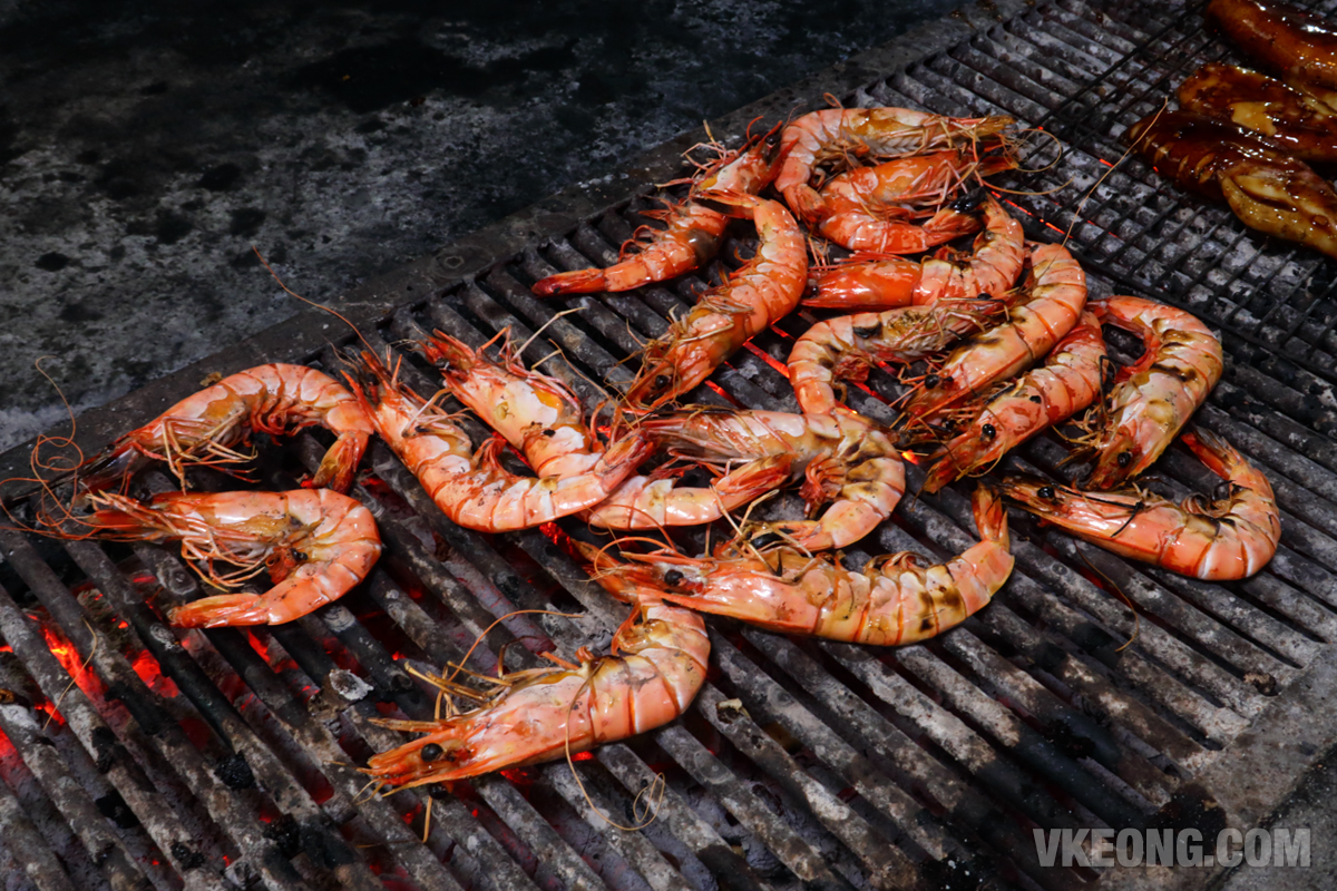 Veg-Fish-Farm-Thai-Restaurant-BBQ-Prawns