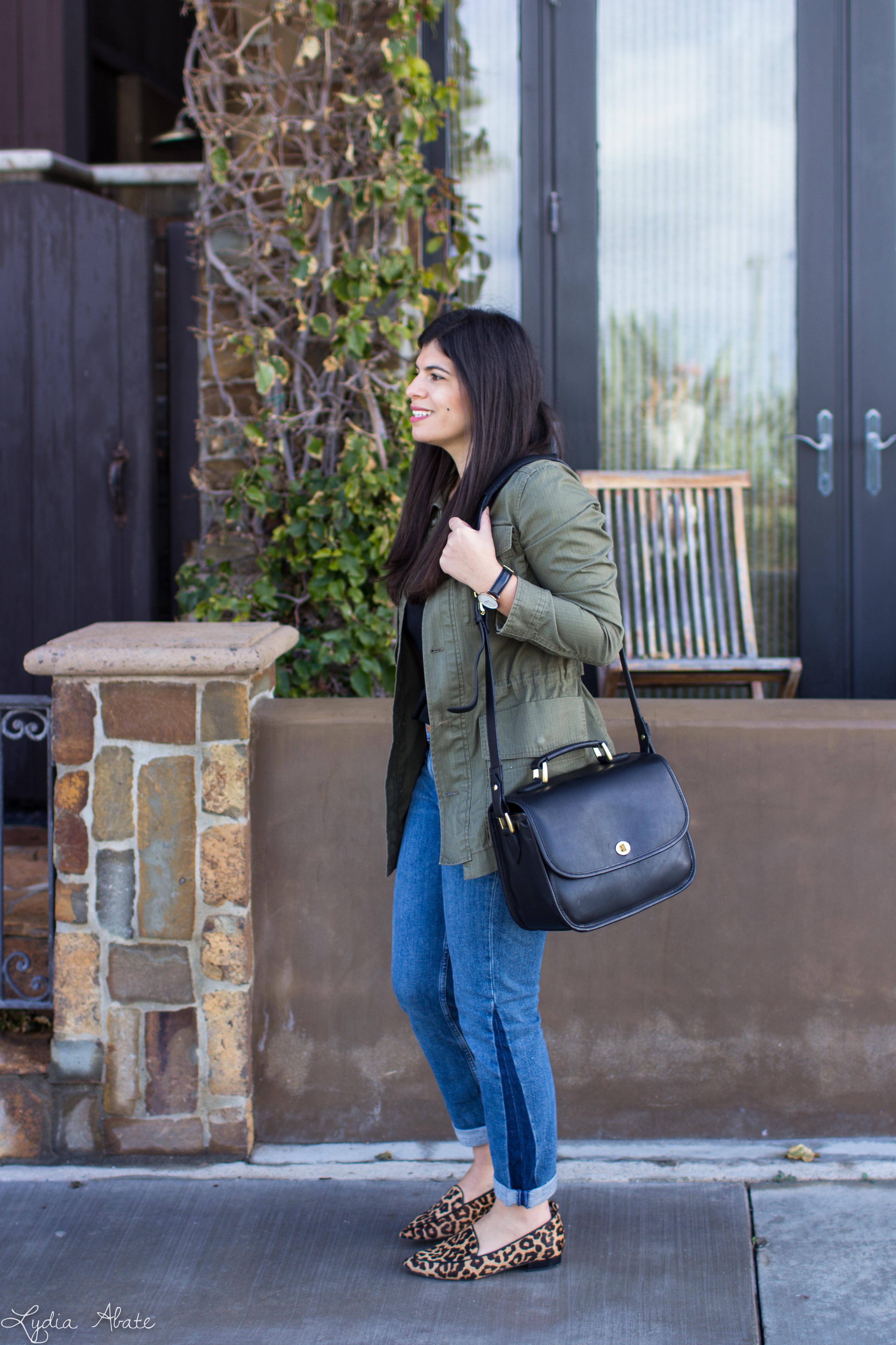 field jacket, boyfirend jeans, ONA palma bag, leopard loafers-10-2.jpg