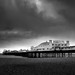 Storm over Brighton Palace Pier