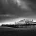 Storm over Brighton Palace Pier