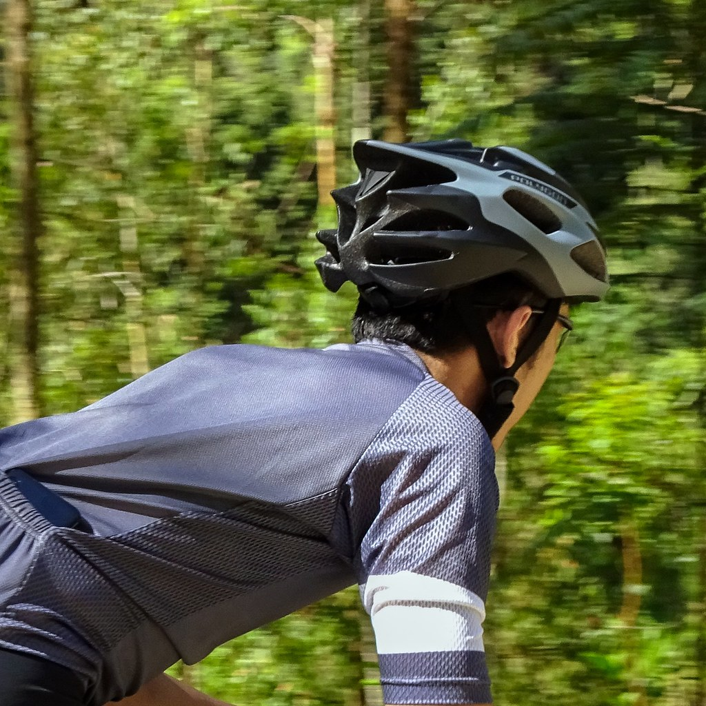 Polygon Speed Cycling Helmet's airy feel