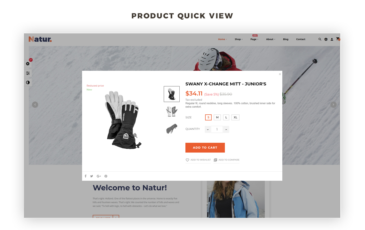 product quickview - Leo Natur - Sports, Outdoors Gear and Fashion