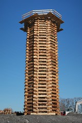 Lustenau Austria - Tower to Burn