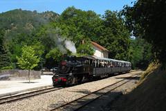 Mallet 414+balladeuses Train des Gorges