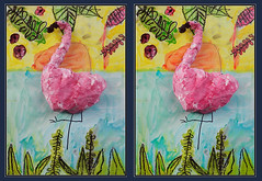 Flamingo: by a 5 year old