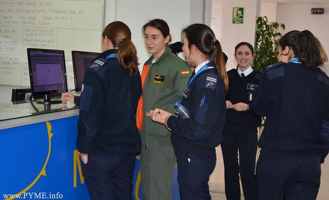 En la Escuela de Pilotos Adventia cuenta actualmente con actualmente un 14% de alumnos mujeres.