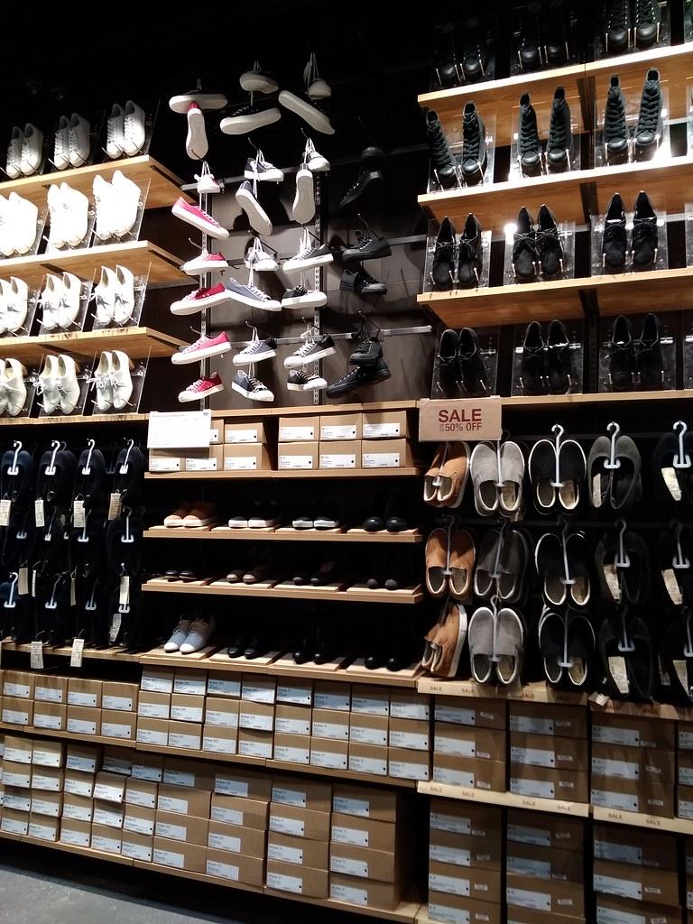 MUJI无印良品的鞋墙