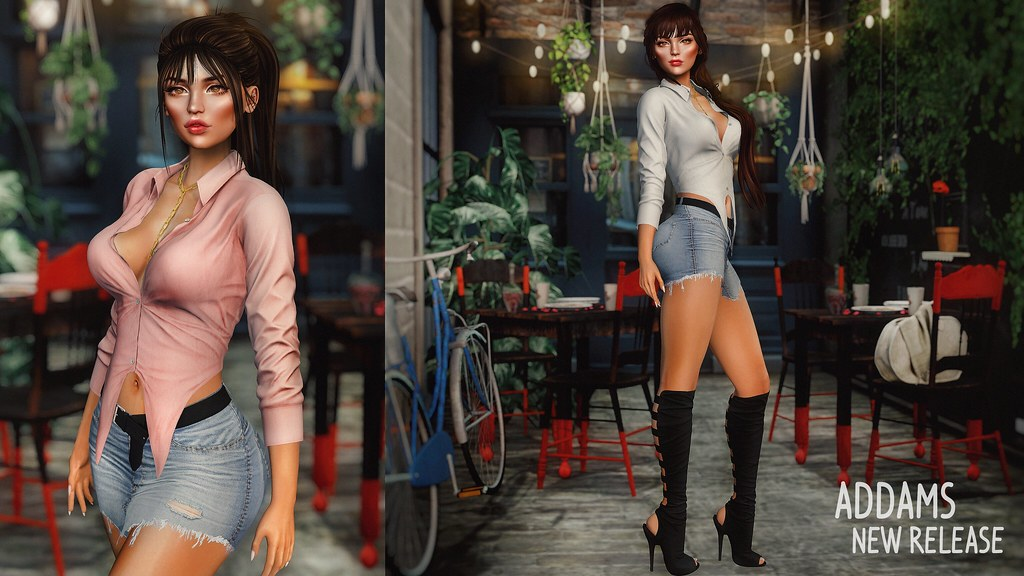 Addams Marlene Set @ New Mainstore Release