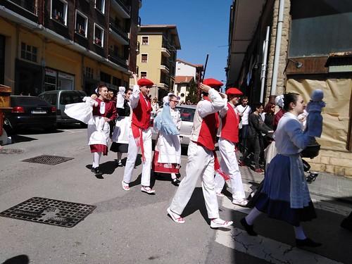 Inude eta Artzainen kalejira Lekeition 2019
