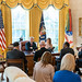 President Trump and First Lady Melania Trump Receive and Opioid Briefing by The White House