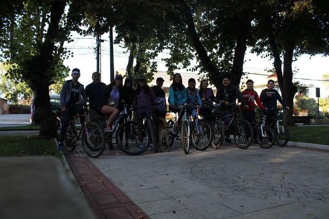Cicletada 1° Medio B - 2019